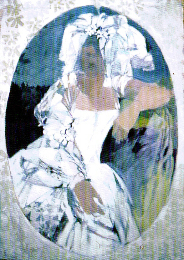 The French Bride [1966] oil on canvas
