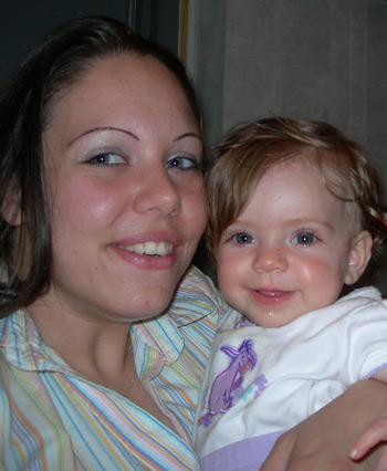 Jennifer and daughter Kylee